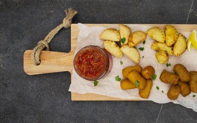 Haute friture: tapaskroketjes en empanadas